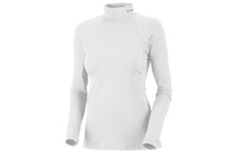 Columbia Women&#039;s Baselayer Midweight Mock Neck Long Sleeve white